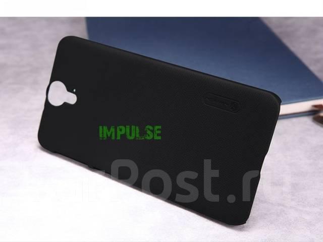 Чехол-накладка для HTC One E9 Plus(+) Nillkin Super Frosted Shield Черный