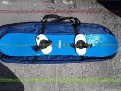 Сноуборд с креплениями 128см + сумка