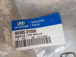Решетка на противотуманные фары. Hyundai ix35 Hyundai Tucson