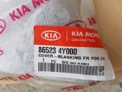 Заглушка бампера. Kia Rio