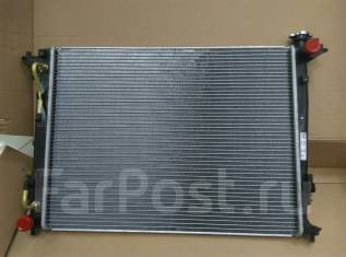 Радиатор охлаждения двигателя. Hyundai ix35, LM Kia Sportage Двигатели: D4HA, G4NA, G4KD