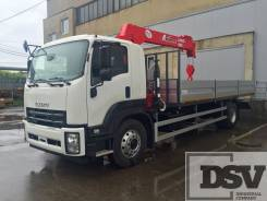 Isuzu Forward. Борт-кран (FVR34UL-S) с КМУ UNIC UR-V554, 7 790 куб. см., 10 000 кг. Под заказ