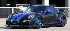 Обвес кузова аэродинамический. Porsche 911, 991. Под заказ