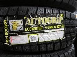 Autogrip Ecowinter. Зимние, под шипы, 2015 год, без износа, 4 шт