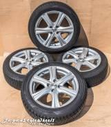 Sibilla RZ 16x6,5J 4x100 ET45 d67,1 Dunlop DSX (износ не равномерный). 4x100.00 ET45 ЦО 67,1мм.