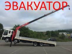 Isuzu Giga. Продам Isuzu GIGA, чистый эвакуатор в отличном состоянии!, 19 001 куб. см., 15 000 кг.