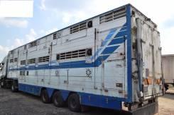 Pezzaioli. Универсальный полуприцеп скотовоз для перевозки живых живот, 23 000кг.