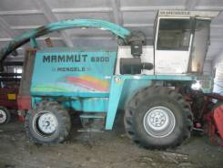 MAMMUT, 1996. Кормоуборочный комбайн Mammut. Немецкий.