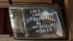 Фара правая Toyota LAND Cruiser 60-67 60-61 60-69 60-70