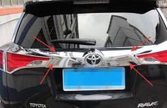 Накладка на дверь багажника. Toyota RAV4, ASA44L, XA40, ALA49L, ZSA42L, ASA42, ASA44, ZSA44L