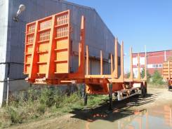 Политранс ТСП 9417. Полуприцеп сортиментовоз, 32 700 кг.