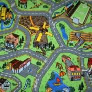 Ковровое покрытие Городок 20 | Детский