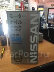 Nissan. Вязкость 5W-30, синтетическое