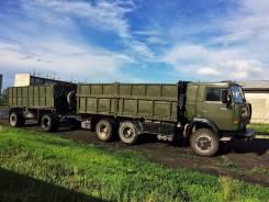 Камаз 5320. Продам Бортовой с прицепом, 2 500 куб. см., 8 000 кг.