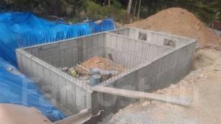 Фундаменты, монолитные подпорные стены, любые бетонные работы!