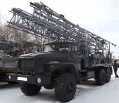 Урал 4320. Буровая установку 1БА-15В после капремонта на новом шасси УРАЛ, 11 150 куб. см., 20 000 кг.