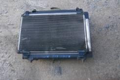 Радиатор охлаждения двигателя. Toyota Ractis, NCP100, NCP105 Двигатель 1NZFE