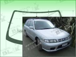 Лобовое стекло Ford TELSTAR 1997-1999 (GF/GW)(5d wgn) пятак-зерк (Зеленоватый оттенок с зеленым козырьком, Бренд:SF-КDМ)