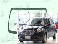 Лобовое стекло Nissan BOLERO 2010- (K13) (Зеленоватый оттенок, Бренд:УНG)