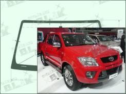 Лобовое стекло Toyota HILUX 2004-2015 (AN10/20/30) Hilux Vigo пятак-зерк (Зеленоватый оттенок, Бренд:SF-КDМ)