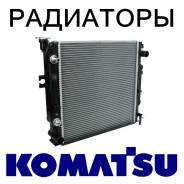 Радиатор охлаждения двигателя. Komatsu: PC180NLC, PC150, PC450LC, PC110R, PC78, PC220LC, PC78MR, PC120LC, PC75MR-6, PC400LC-7, PC350LC, PC300SE, PC76U...
