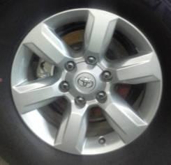 Колпак. Toyota Land Cruiser Prado, TRJ150, GRJ151, GRJ150 Двигатели: 1GRFE, 2TRFE