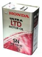 Honda. Вязкость 5W-30, полусинтетическое
