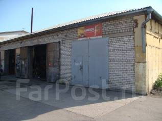 Продам здание гаражных боксов. Улица Краснознаменная 182Г, р-н МЖК..напротив ледовой арены, 395кв.м.