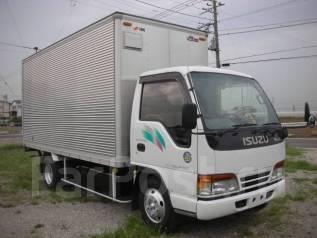Isuzu Elf. фургон(будка) под птс. Двигатель 4HG1, рама NKR71, аппарель, 4 600 куб. см., 2 000 кг. Под заказ