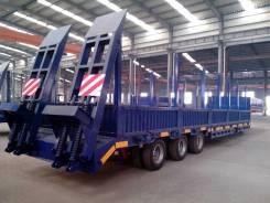 Luyue. Продам трал 60 тонн с прямой площадкой 3 оси;, 60 000 кг.