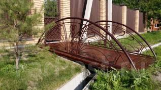 Мостик кованный, металлический для сада, дома. Под заказ