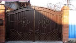 Ворота, калитка, заборы кованые, металлические для дома, коттеджа. Под заказ