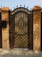 Ворота, калитка, заборы кованные, металлические для дома, коттеджа. Под заказ