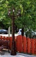 Уличный фонарь, кованный, металлический, для сада, дома, коттеджа. Под заказ