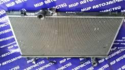 Радиатор охлаждения двигателя. Toyota Cresta, GX100
