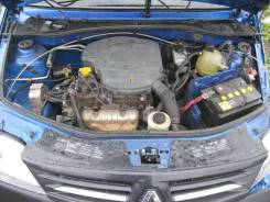 Крышка коленвала передняя Renault Logan