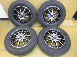 Комплект колес Goodyear GT-Eco Stage 185/70R14. 5.5x14 4x100.00 ET38