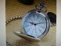 Карманные часы брелок кварцевые с цепочкой новые. Отправим в любой гор