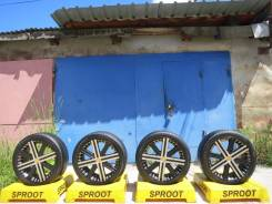 M'z SPEED. 7.5x18, 5x100.00, 5x114.30, ET52, ЦО 73,0 мм.