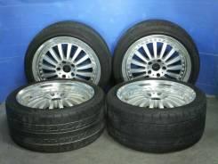 Комплект разношироких колес R18. 9.0/8.0x18 5x114.30 ET35/35