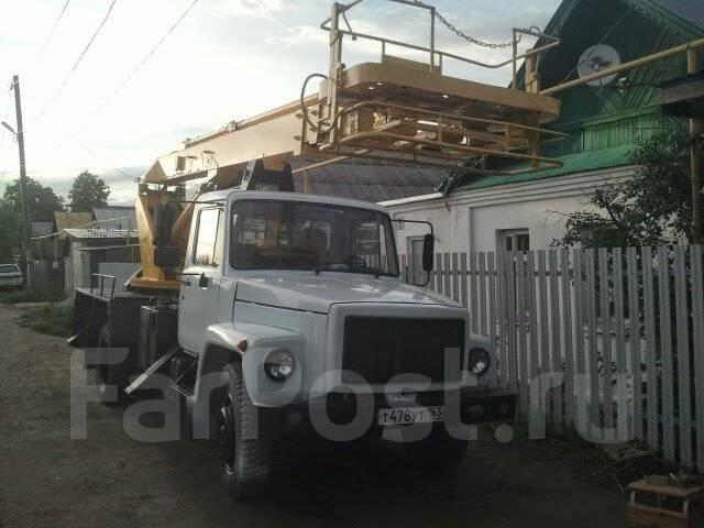 ГАЗ 3309. Продается автовышка, 2 000куб. см., 18м.