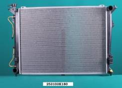 Радиатор охлаждения двигателя. Hyundai NF Hyundai Grandeur, TG Hyundai Sonata