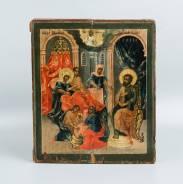 Подписная икона «Образ Рождества Пресв. Богородицы». Россия, Xviii век. Оригинал