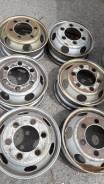 Продам грузовые диски R17.5 Цена указана за 1 шт. 6.0x17.5, 6x139.70, ET135, ЦО 73,0мм.