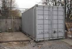 Сдам в аренду контейнера на охраняемой закрытой территор 2тыс. 10 кв.м., улица Западная 18, р-н Аэропортовская трасса