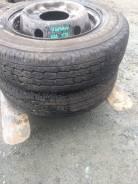 Bridgestone Duravis R670. Летние, 2015 год, износ: 5%, 2 шт