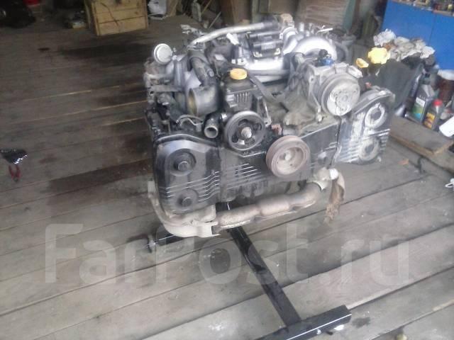 Двигатель в сборе. Subaru Forester, SF5, SG5 Subaru Legacy Subaru Impreza Двигатели: EJ20, EJ201, EJ202, EJ203, EJ204, EJ205, EJ20A, EJ20E, EJ20G, EJ2...