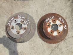 Барабан тормозной. Toyota Ipsum, ACM21, ACM21W Двигатель 2AZFE