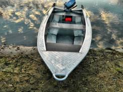 Wyatboat. Год: 2017 год, длина 4,00м., двигатель без двигателя, 15,00л.с., бензин. Под заказ