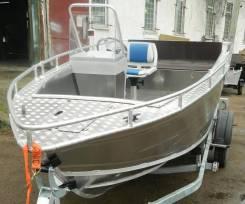 Wyatboat. 2018 год год, длина 5,04м., двигатель без двигателя, 66,00л.с., бензин. Под заказ